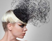Couture Net Headpiece-Gee