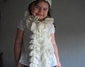 Childerns Crochet Sprial Scarf