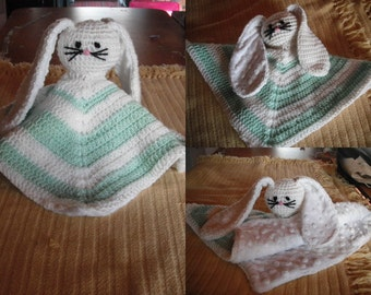 "Crochet Snuggle Buddy ""Mintie"""