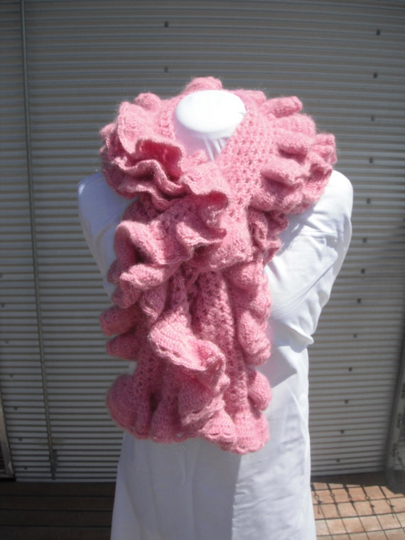 Crochet Scarf-OOAK Ladies