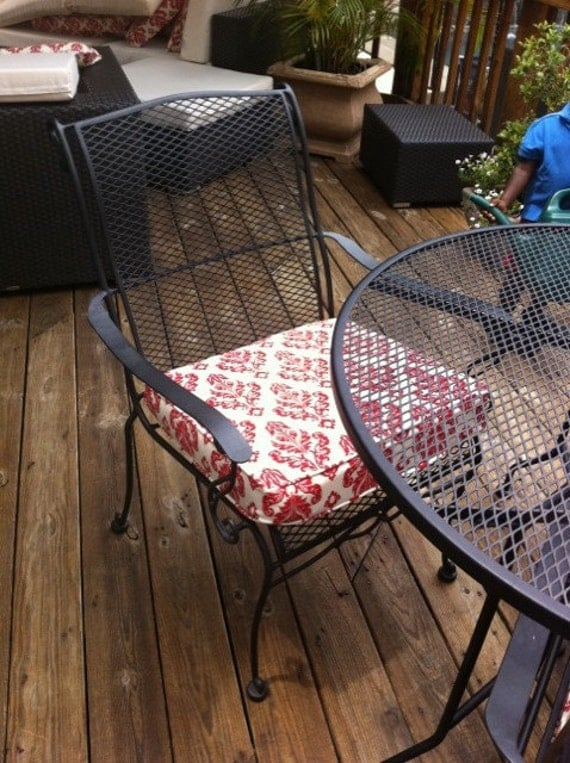 Custom Outdoor Cushions with Cording Featuring Sunbrella You