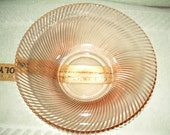 Federal Glass 'Diana' Pattern Console Bowl