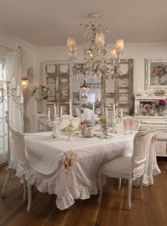 items similar to white belgian linen by rachel ashwell shabby chic fabric yard 106 39 39 width. Black Bedroom Furniture Sets. Home Design Ideas
