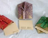 Origami Peace Crane Mini Message - Circles - Set of Three