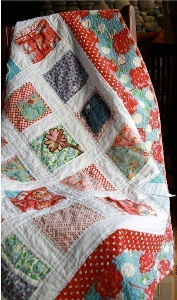 Audrey's Keepsake PDF Children's Clothing Quilt Pattern