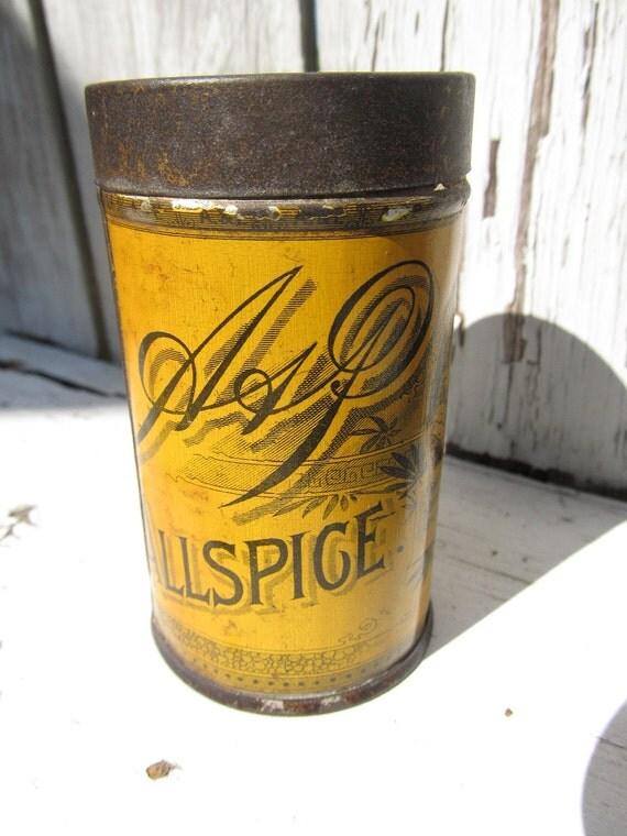 Country Spice Tin-Collectible Tin-Country Tin