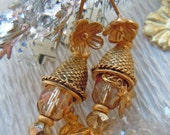 Golden Honey Earrings