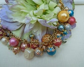 Carousel - A Vintage Bead Charm Bracelet