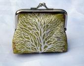 Handmade coin purse My Favourite Tree