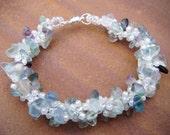 Flourite Spiral Bracelet