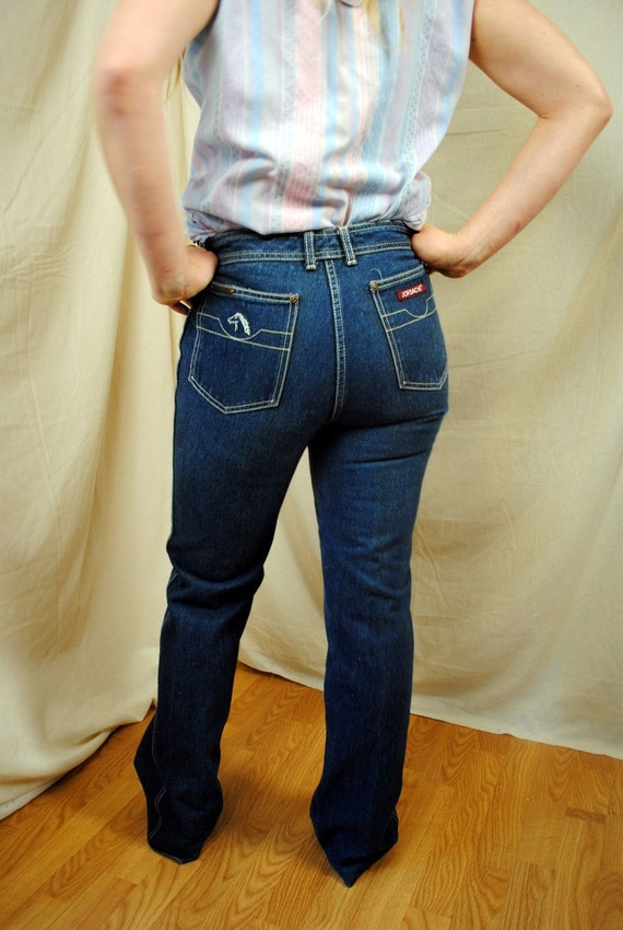 Vintage jordache 70s jeans size 32 by rogueretro on etsy