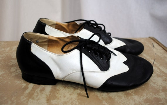 Vintage Leo Oxford Saddle Shoes Dance Shoes Size 11 By