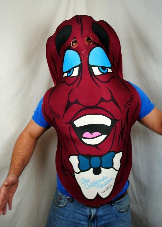 California raisin costume