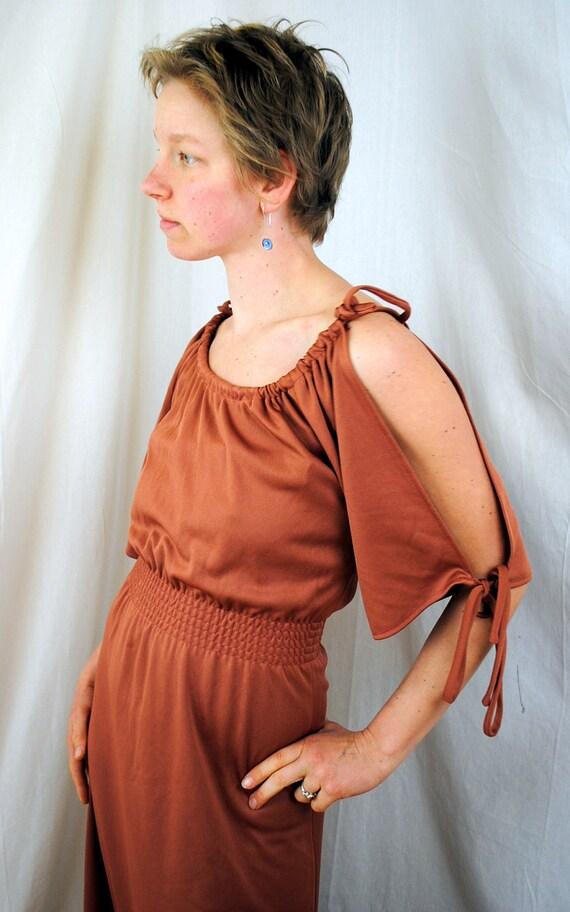 SALE Vintage Melissa Lane Polyester Formal 70s Dress