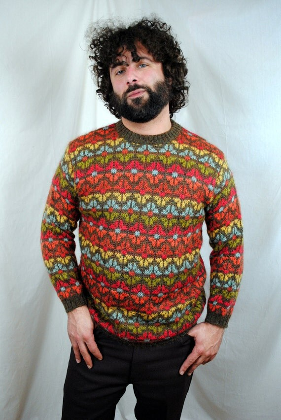 Vintage 1980s United Colors of Benetton Sweater by RogueRetro