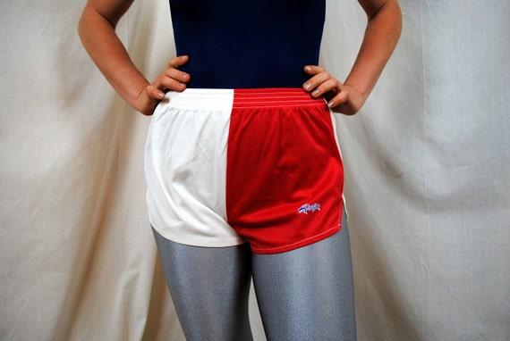 Vintage 80s Mini Track Sports Shorts