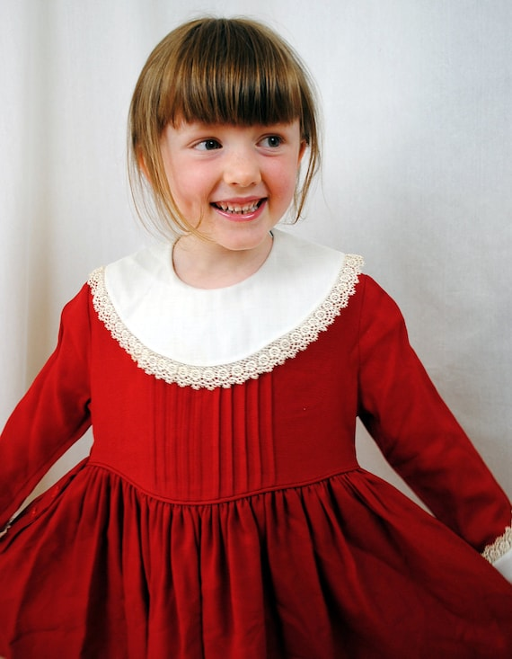 Sweet 1950s Girls Dress - Suzy Brooks, Designed by Suzanne Godart