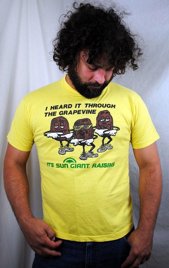 California Raisins Vintage 1980s Shirt