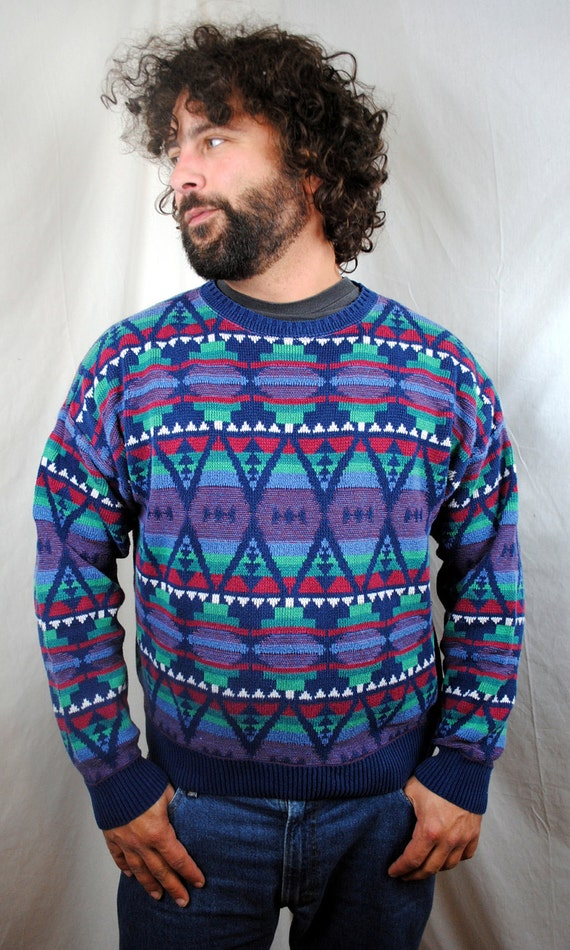 Vintage Pendleton High Grade Western Wear Southwest Aztec Sweater