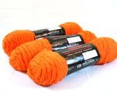 Orange Yarn - Three Skeins