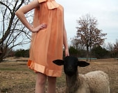 Reserved for ReadyToWear---the Clementine Sorbet mini dress, XS\/small, 1960s\/1950s