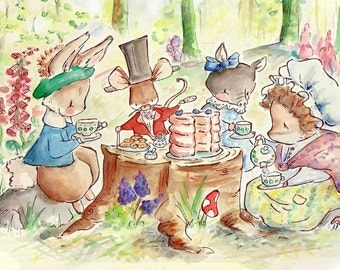 The Peter Rabbit Collection. COLLECTORS EDITION. Print. Nursery Art Wall Decor