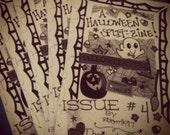 A HALLOWEEN SPLIT ZINE, Issue 4 by. RiotgrrrlK97