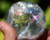 59mm Rainbow Quartz Sphere. Materials Directly Imported from Brazil Inv. 35