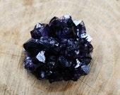 Amethyst Druzy Cluster Specimen DARK Purple Druzy Stalactite Tip or End  from Uruguay  Inv. CL5