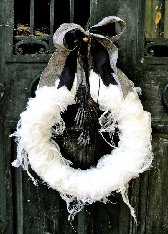Halloween Wreath, Mummy's Tomb Wreath