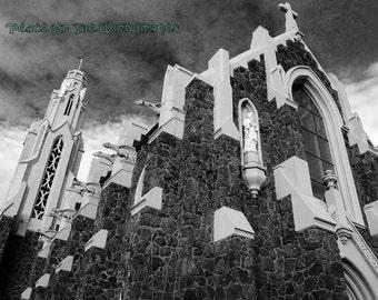 11 X 14 Gothic Church Fine Art Photograph