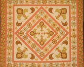 Springtime in Paris Medallion Queen-sized PDF Quilt Pattern