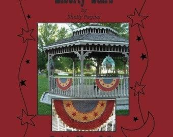 Liberty Stars Americana Bunting Pattern