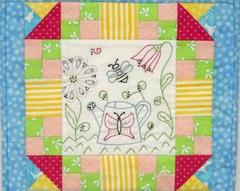 Bees, Blooms, and Butterflies Quilt Pattern Booklet