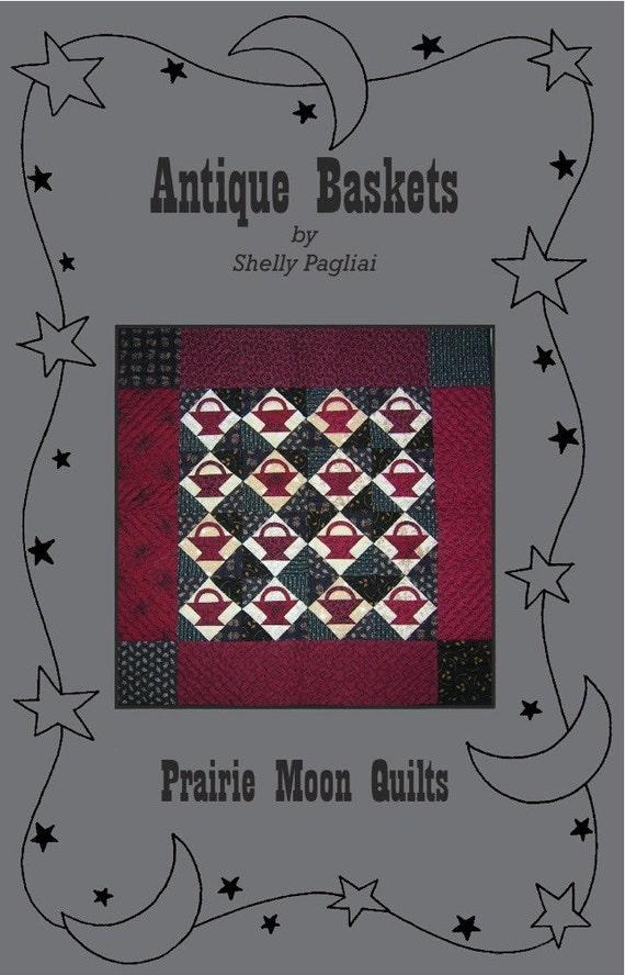 Antique Baskets Quilt Pattern