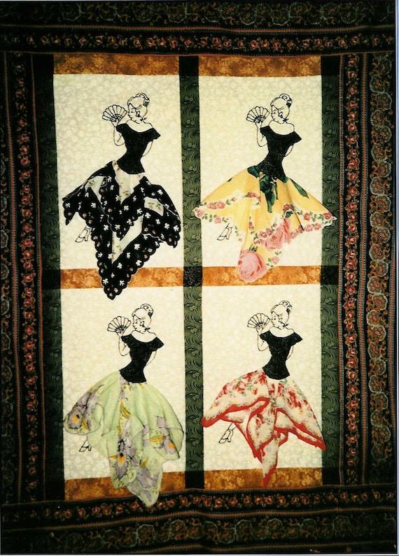 Saucy Senorita Handkerchief Quilt Pattern By Quarterinch