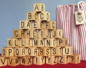 ABC Wooden Blocks Spelling Set