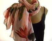 Last One..Aloha....Bird of Paradise...Peachy Pink....Parisian Neck Tissu...