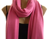 Sweet Pink...Jumbo Nomad Rag...Unisex....Celebrity Trend...Introductory Price.