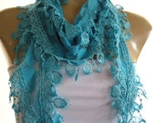 Turquoise ..Richly Fringed...Mediterranean fever.... Summer collection