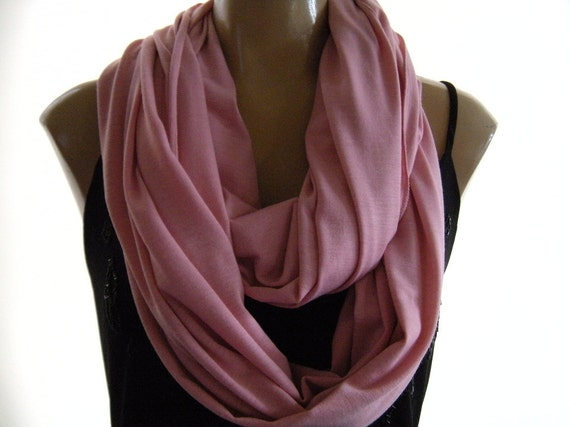 Last one..Pink Blush... Nomad Cowl.....Infinity Scarf..Relaxed version