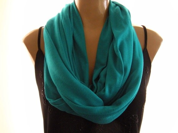 Last one..Caribbean Turquoise... Nomad Cowl.....Infinity Scarf..Relaxed version