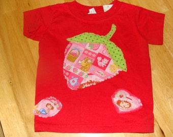 Strawberry Shortcake T Shirt Size XS 2-4