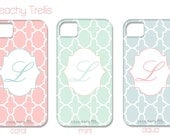 Monogrammed Beachy Trellis iPhone Cover