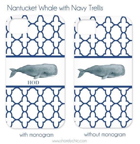 Nantucket Whale iPhone Cover