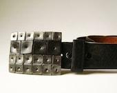 Steel Knockout Belt Buckle