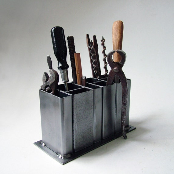 Industrial steel desk organizer - Over the desk organizer ...