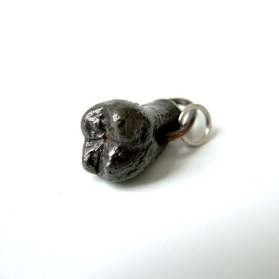 Ferrodent: Cast Iron Tooth Charm