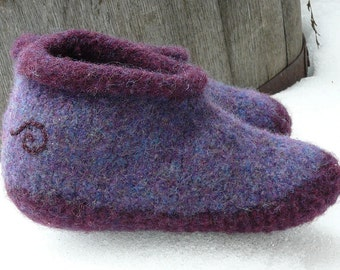 Wild Woolie Felted Slipper PATTERN