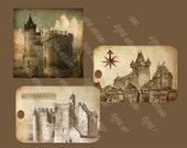 Rêves de châteaux de contes de fées Tags numériques Télécharger